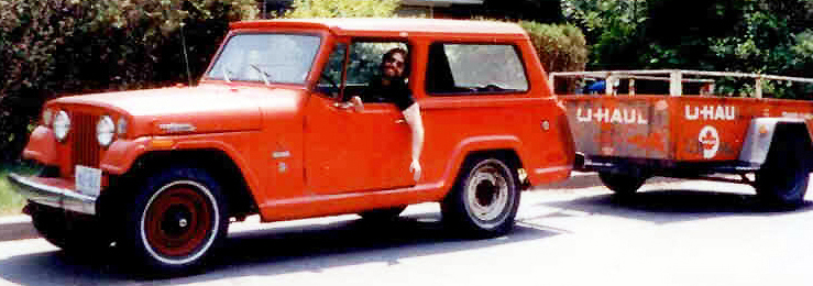 Jeepster and trailer